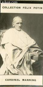 PHOTO ANCIENNE CARDINAL MANNING CLERGE D'ANGLETERRE
