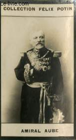 PHOTO ANCIENNE AMIRAL AUBE ARMEE ET MARINE DE FRANCE
