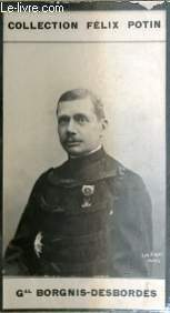 PHOTO ANCIENNE GENERAL BORGNIS-DESBORDES ARMEE ET MARINE DE FRANCE