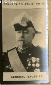 PHOTO ANCIENNE GENERAL SAUSSIER ARMEE ET MARINE DE FRANCE