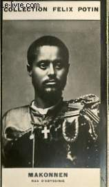 PHOTO ANCIENNE MAKONNEN RAS D'ABYSSINIE