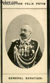 PHOTO ANCIENNE GENERAL BARATIERI ARMEE ET MARINE D'ITALIE
