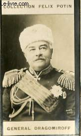 PHOTO ANCIENNE GENERAL DRAGOMIROFF ARMEE ET MARINE DE RUSSIE