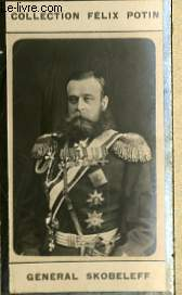PHOTO ANCIENNE GENERAL SKOBELEFF ARMEE ET MARINE DE RUSSIE