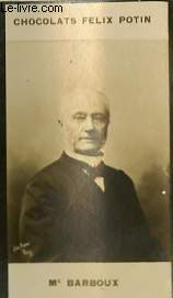PHOTO ANCIENNE MAITRE BARBOUX MAGISTRATURE- BARREAU DE FRANCE