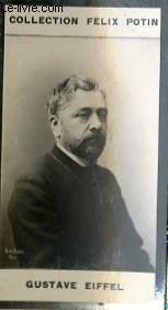 PHOTO ANCIENNE GUSTAVE EIFFEL SCIENCES-INGENIEURS DE FRANCE