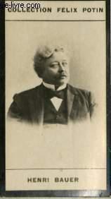 PHOTO ANCIENNE HENRI BAUER HOMME DE LETTRES DE FRANCE