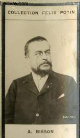 PHOTO ANCIENNE A. BISSON HOMME DE LETTRES DE FRANCE