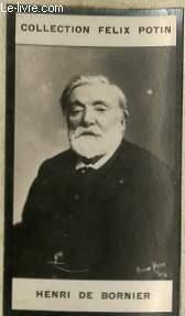 PHOTO ANCIENNE HENRI DE BORNIER HOMME DE LETTRES DE FRANCE