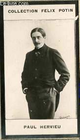 PHOTO ANCIENNE PAUL HERVIEU HOMME DE LETTRES DE FRANCE