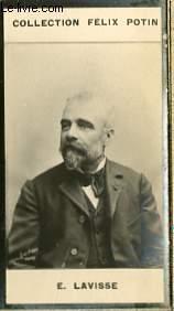 PHOTO ANCIENNE E. LAVISSE HOMME DE LETTRES DE FRANCE