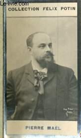 PHOTO ANCIENNE PIERRE MAEL HOMME DE LETTRES DE FRANCE