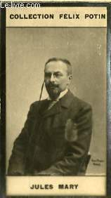PHOTO ANCIENNE JULES MARY HOMME DE LETTRES DE FRANCE