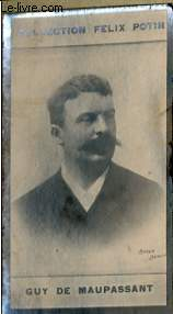 PHOTO ANCIENNE GUY DE MAUPASSANT HOMME DE LETTRES DE FRANCE