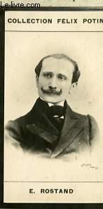 PHOTO ANCIENNE E. ROSTAND HOMME DE LETTRES DE FRANCE