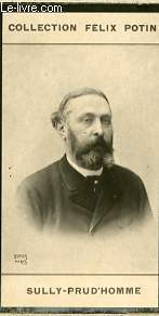 PHOTO ANCIENNE SULLY PRUD'HOMME HOMME DE LETTRES DE FRANCE