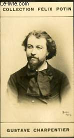 PHOTO ANCIENNE GUSTAVE CHARPENTIER MUSICIEN DE FRANCE
