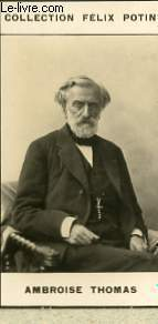 PHOTO ANCIENNE AMBROISE THOMAS MUSICIEN DE FRANCE