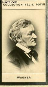 PHOTO ANCIENNE WAGNER MUSICIEN D'ALLEMAGNE