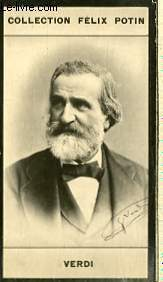 PHOTO ANCIENNE VERDI MUSICIEN D'ITALIE