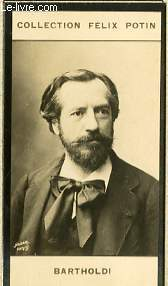 PHOTO ANCIENNE BARTHOLDI SCULPTEUR-ARCHITECT DE FRANCE