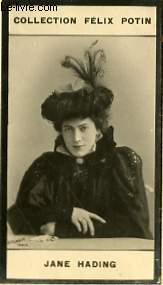 PHOTO ANCIENNE JANE HADING ARTISTE LYRIQUE ET DRAMATIQUE DE FRANCE