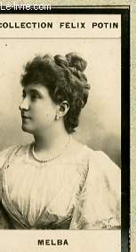 PHOTO ANCIENNE MELBA ARTISTE LYRIQUE ET DRAMATIQUE DE FRANCE