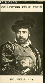 PHOTO ANCIENNE MOUNET-SULLY ARTISTE LYRIQUE ET DRAMATIQUE DE FRANCE