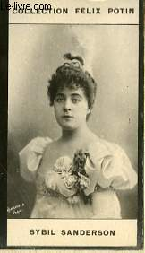 PHOTO ANCIENNE SYBIL SANDERSON ARTISTE LYRIQUE ET DRAMATIQUE DE FRANCE