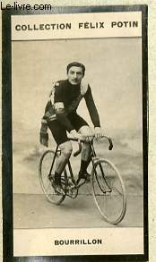 PHOTO ANCIENNE BOURRILLON SPORT VELOCIPEDIE DE FRANCE