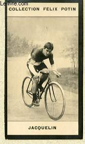 PHOTO ANCIENNE JACQUELIN SPORT VELOCIPEDIE DE FRANCE
