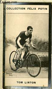 PHOTO ANCIENNE TOM LINTON SPORT VELOCIPEDIE D'ANGLETERRE
