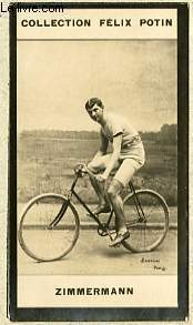 PHOTO ANCIENNE ZIMMERMANN SPORT VELOCIPEDIE DES ETATS-UNIS