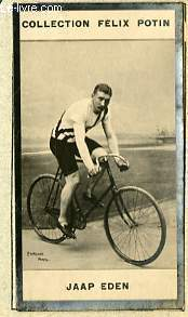 PHOTO ANCIENNE JAAP EDEN SPORT VELOCIPEDIE DE HOLLANDE