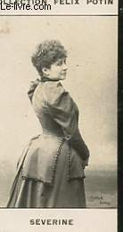 PHOTO ANCIENNE SEVERINE FEMME  DE LETTRES DE FRANCE