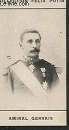 PHOTO ANCIENNE AMIRAL GERVAIS ARMEE ET MARINE DE FRANCE