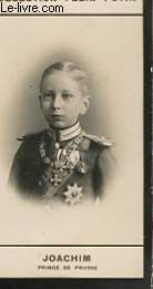 PHOTO ANCIENNE JOACHIM PRINCE DE PRUSSE