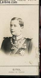 PHOTO ANCIENNE EITEL PRINCE DE PRUSSE