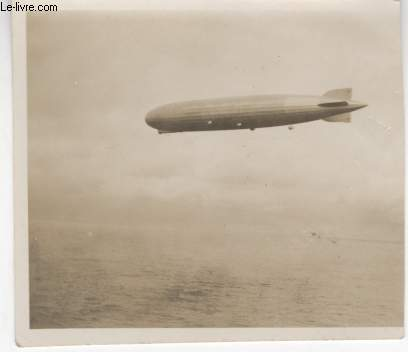 PHOTO ANCIENNE NON SITUEE - ZEPPELIN