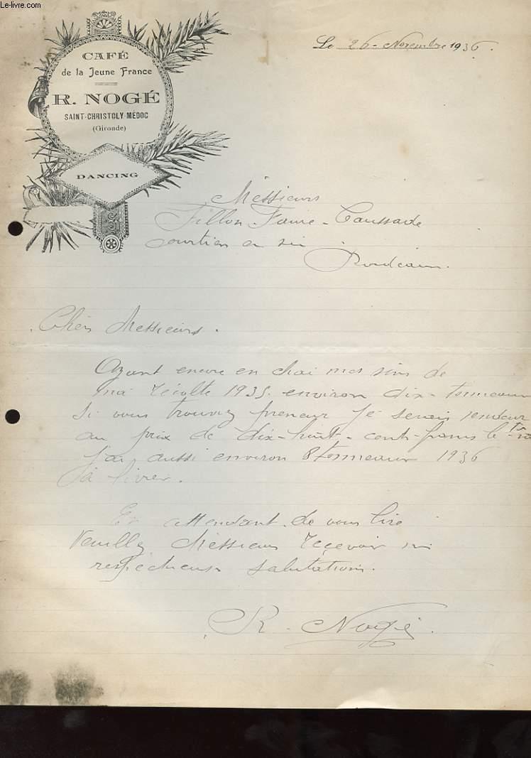 archives    vieux papiers    divers   courrier    lettres anciennes    en stock dans nos locaux