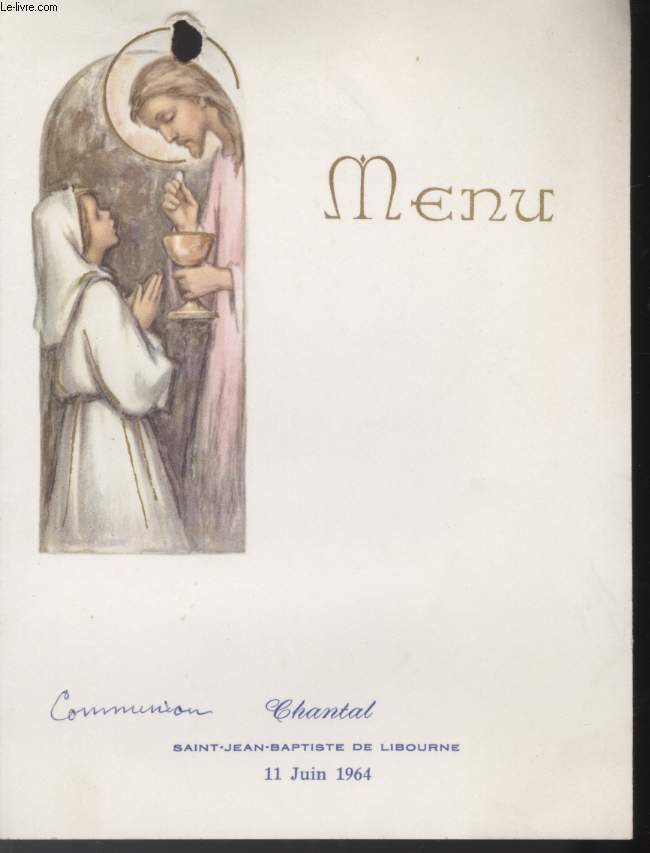 MENU - COMMUNION