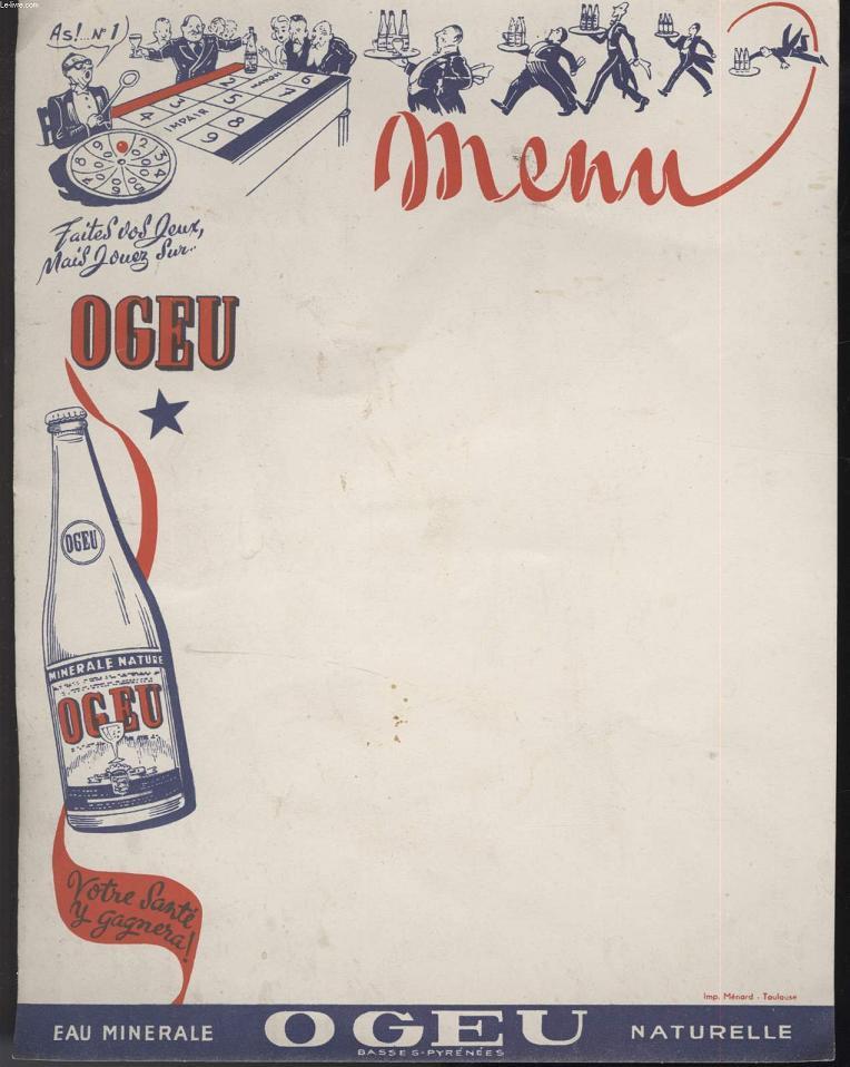 MENU - OGEU