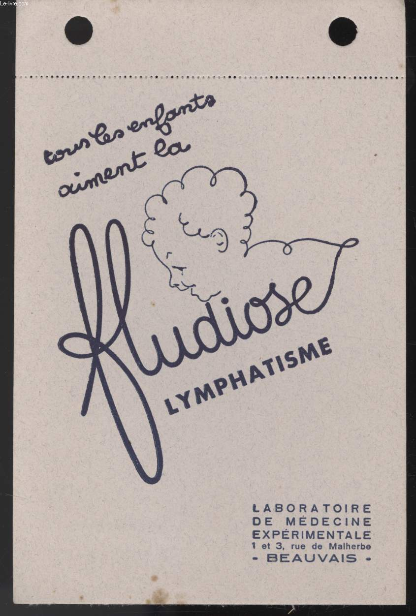 BUVARD - FLUDIOSE LYMPHATISME