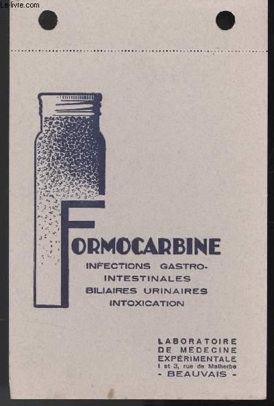 BUVARD - FORMACARBINE