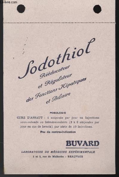 BUVARD - SODOTHIOL