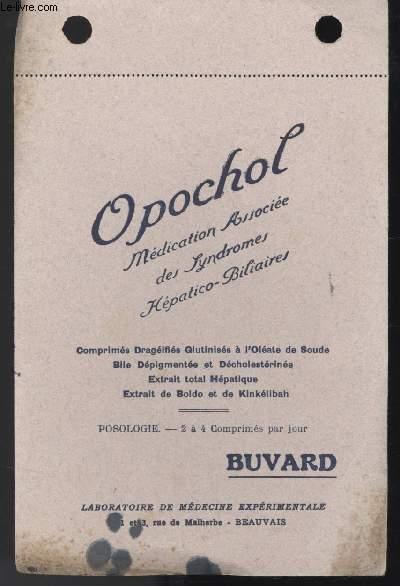 BUVARD - OPOCHOL