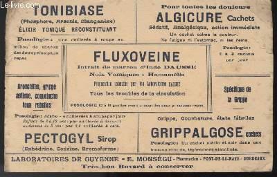 BUVARD - FLUXOVEINE