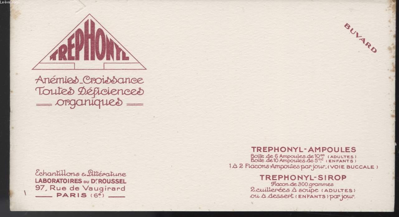 BUVARD - TREPHONYE