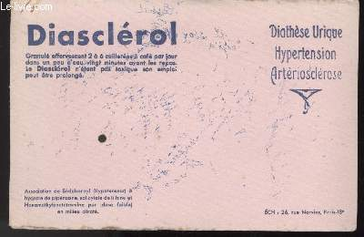 BUVARD - DIATHESE URIQUE HYPERTENSION ARTERIOSCLEROSE