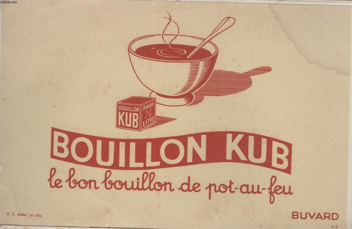 BUVARD - LE BON BOUILLON DE POT-AU-FEU